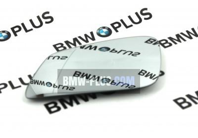 Зеркальный элемент с обогревом левый BMW 5 E60 E61 F07 F10 F11 F18 6 F06 F12 F13 7 F01 F02 F04 51167251583
