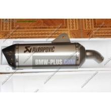 Комплект спортивного глушителя akrapovic BMW 77118528403