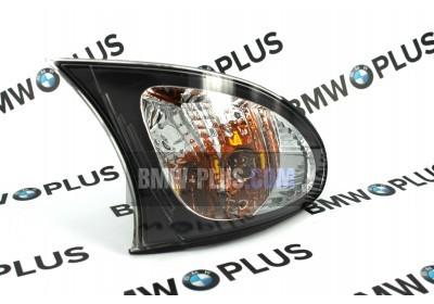 Указатель поворота правый белый BMW 3' E46 63137165850