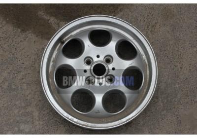 Колесный диск легкосплавный 51/2JX15 ET:45 Silber Mini 36111512458