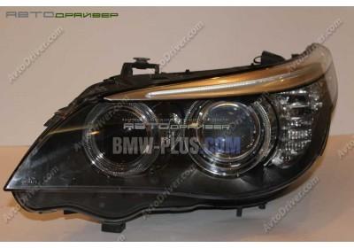 Биксеноновая фара левая BMW 5' E60 63127177751