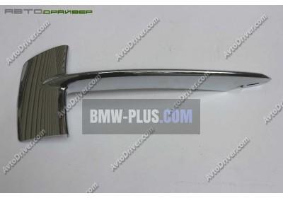 Декоративная накладка боковой решетки правая BMW 51117325396