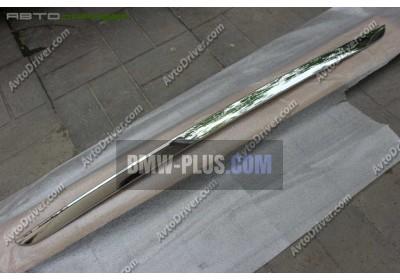 Декоративная планка заднего бампера BMW 51127365333
