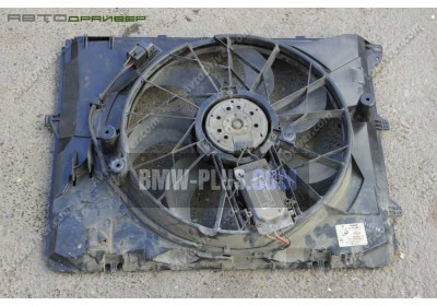 Кожух вентилятора с вентилятором BMW 17427563259