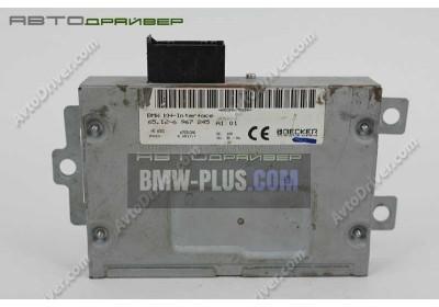 Модуль наушников BMW 7' E65 65126967245