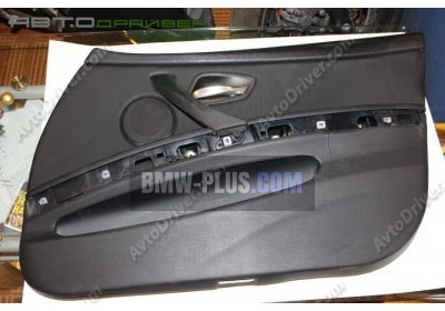 Обшивка двери искуственная кожа передняя правая BMW 3'  51419154168