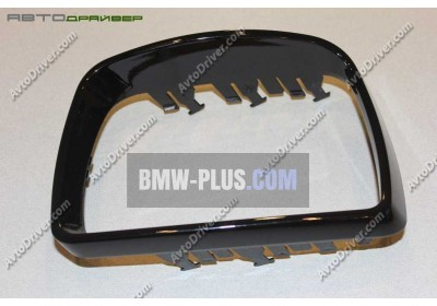 Рамка зеркала левая Glanzschwarz BMW 51167002319