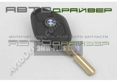 Заготовка ключа с корпусом без электроники BMW 66126955748