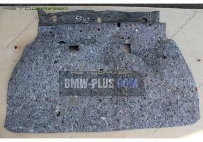 Звукоизоляция днища задняя BMW 3' E91 51487139132